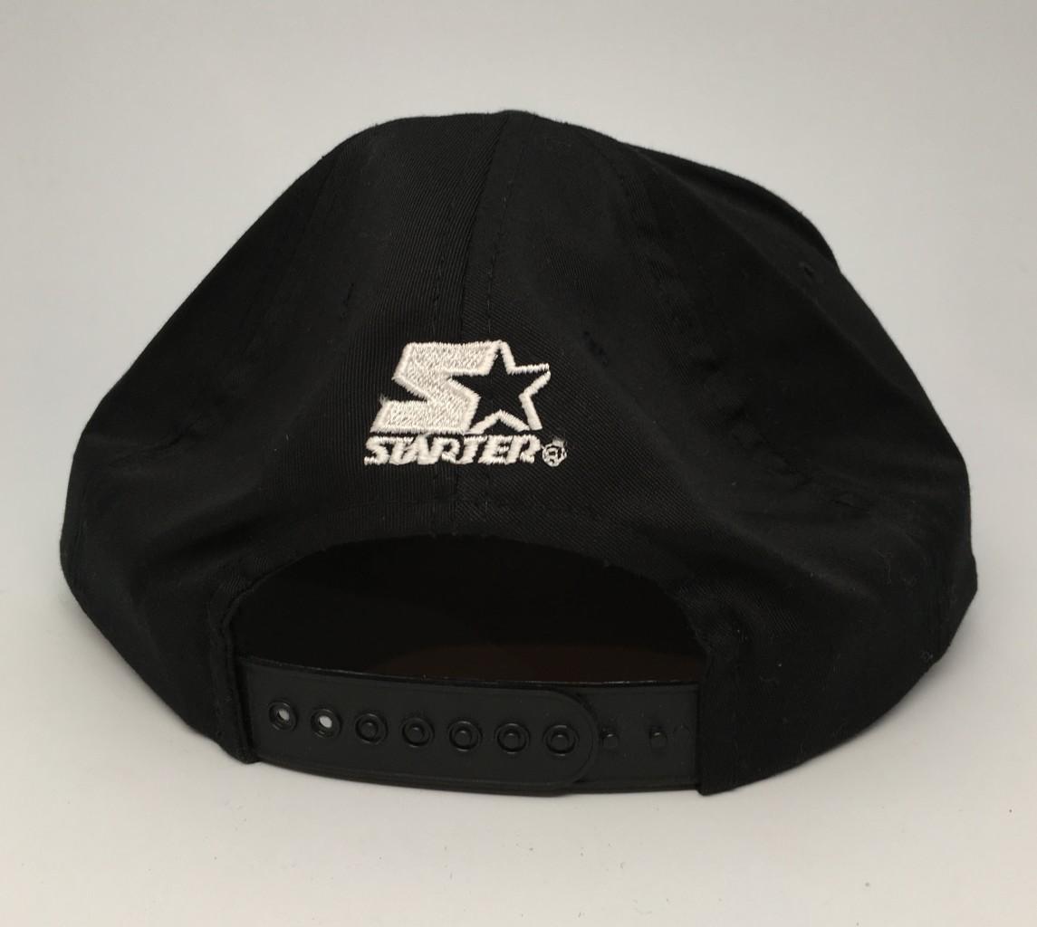 845ce39440ce0 90 s Pittsburgh Penguins Starter arch NHL snapback hat deadstock