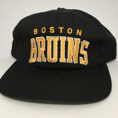 90's Boston Bruins starter arch NHL snapback hat deadstock