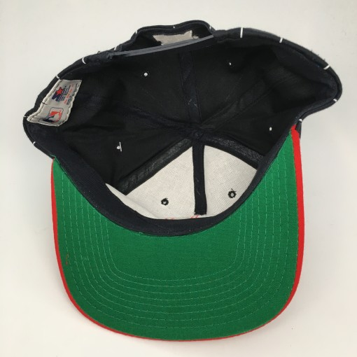90's Boston Red Sox pinstripe starter snapback hat deadstock
