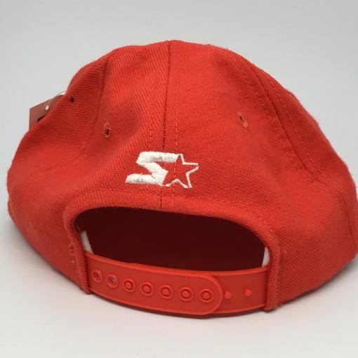 90's Denver Broncos Starter snapabck hat deadstock orange crush