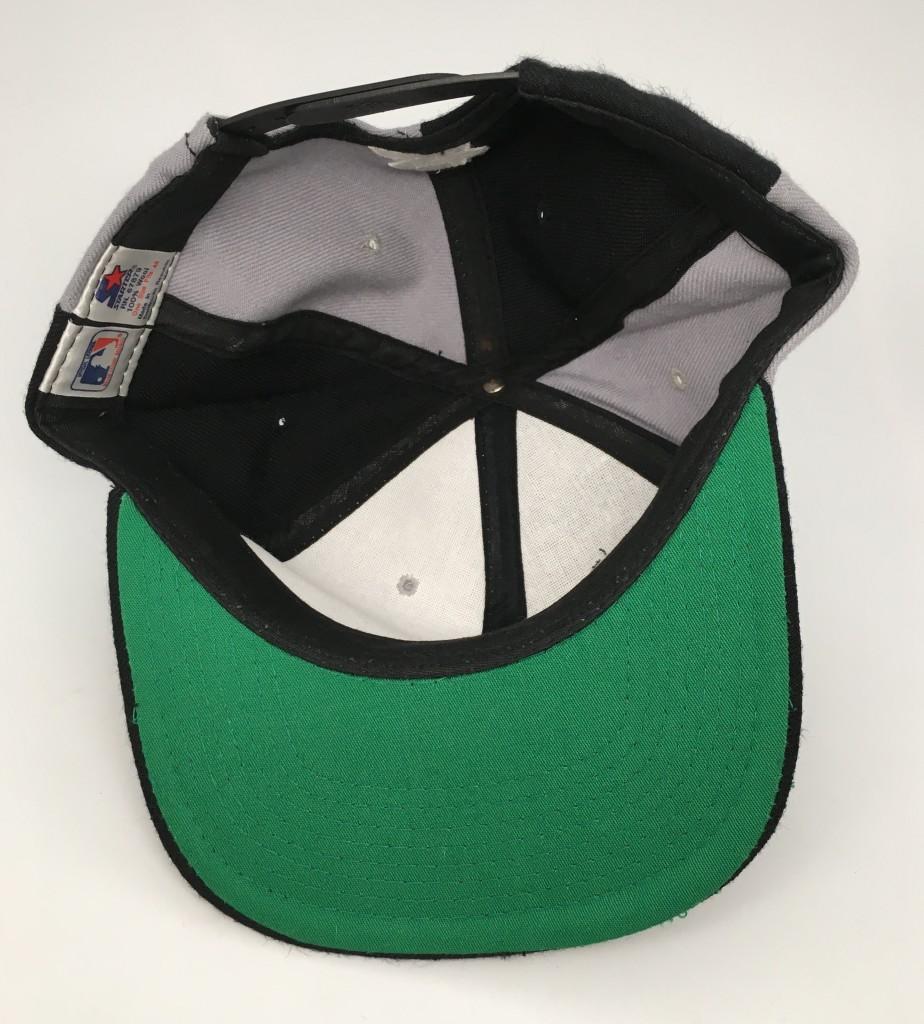 86b9e571478 90 s Chicago White Sox Starter pinwheel snapback hat deadstock