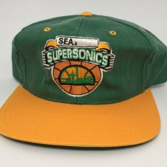 90's Seattle Super Sonics Starter NBA snapback hat deadstock