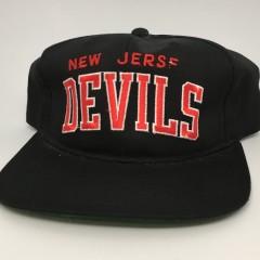 90's New Jersey Devils Starter arch NHL snapback hat deadstock