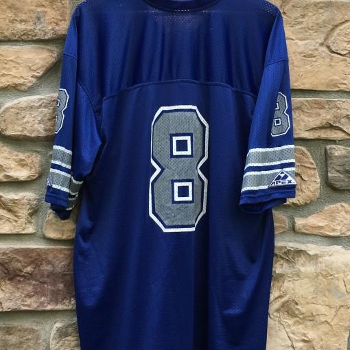 90's Dallas Cowboys Troy Aikman Pro Player NFL Jersey size XL blue
