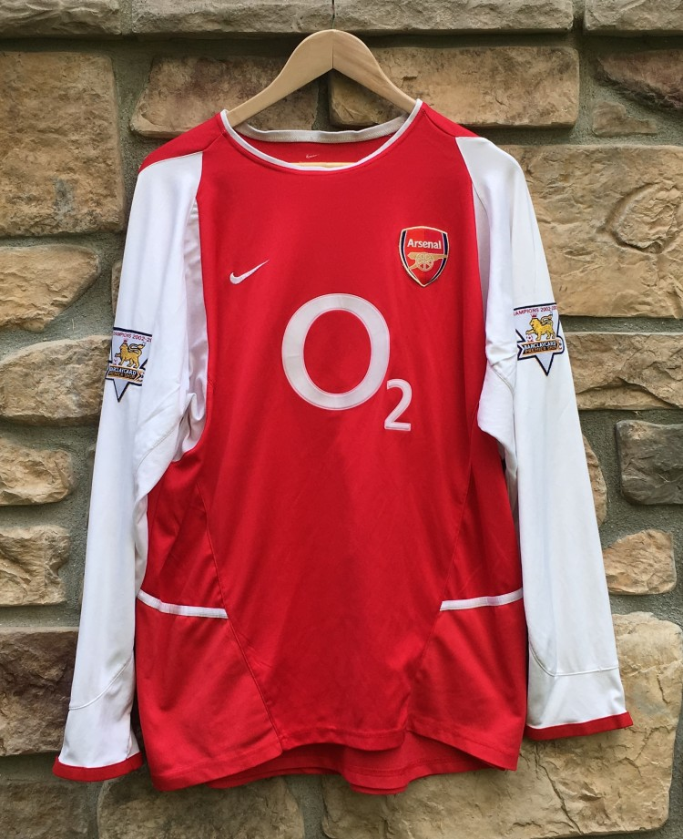 new style 52924 31a76 2003 Thierry Henry Arsenal Gunners Nike Soccer Jersey Size XL