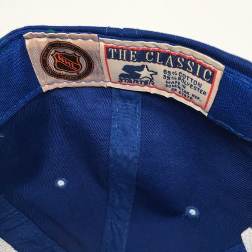 vintage 90's New York Rangers Starter arch NHL Snapback deadstock