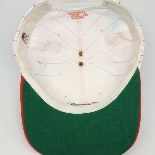 90's University of Florida Gators Starter pinstripe NCAA snapback hat