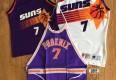 vintage 80's Phoenix Suns Kevin Johnson NBA Jersey Apron