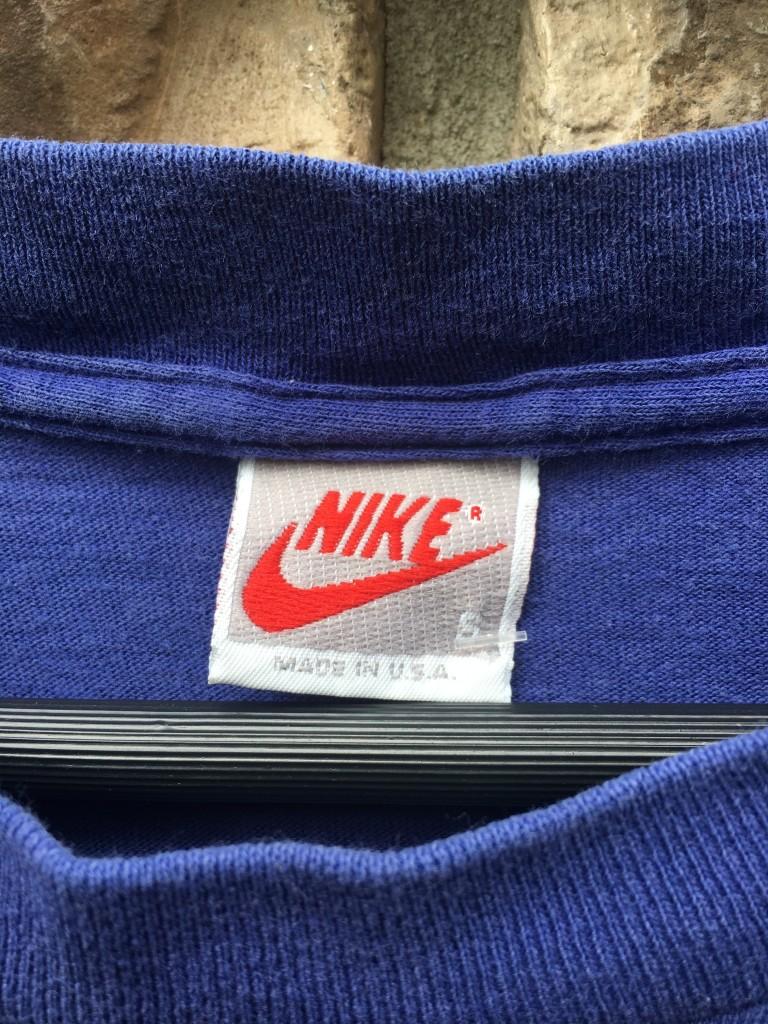 8851ede4985 90's Nike Air Jordan Wings T Shirt Purple Size Small | Rare Vntg