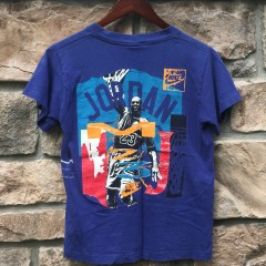 90's vintage Michael Jordan Wings T shirt size small purple