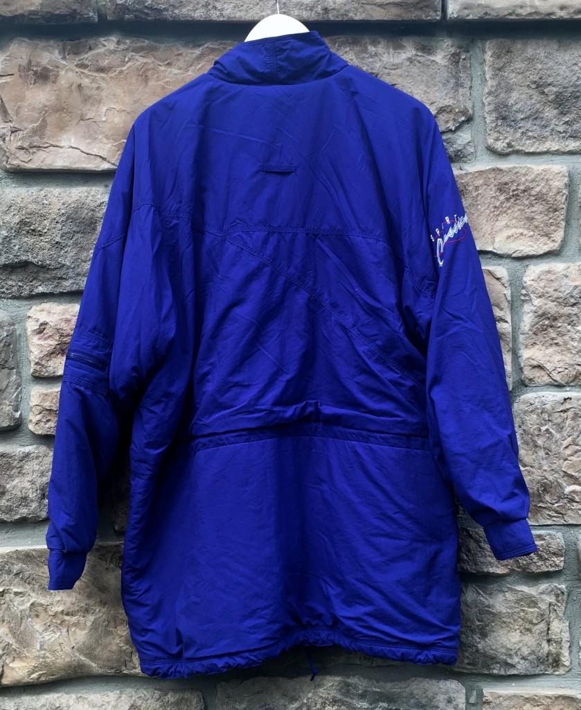 radio acento Bungalow  90's Nike Sports Classics Jacket Blue Size Medium | Rare Vntg