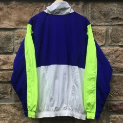 vintage 90s nike jacket neon