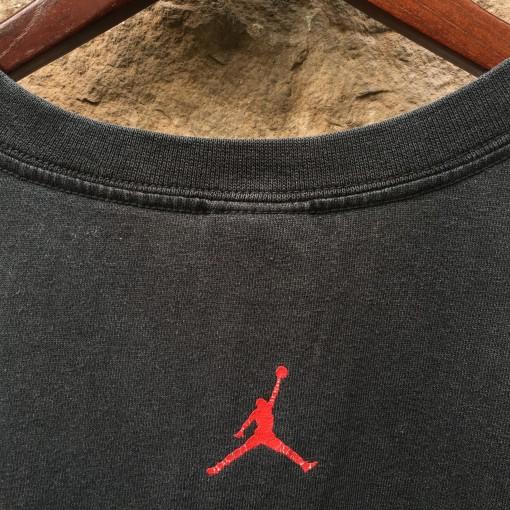 vintage Nike Air Jordan t shirt size XL black