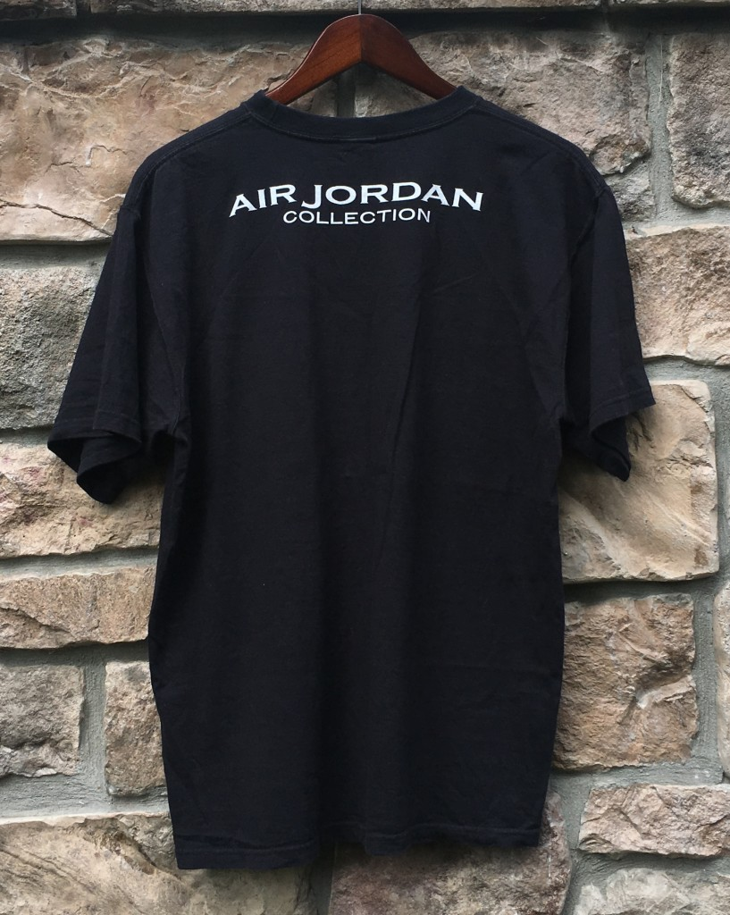 497e7e45300 00's Nike Air Jordan Collection X Retro T Shirt Size Large | Rare Vntg