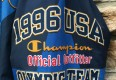 1996 Champion Team USA atlanta olympic award ceremony jacket size XL navy
