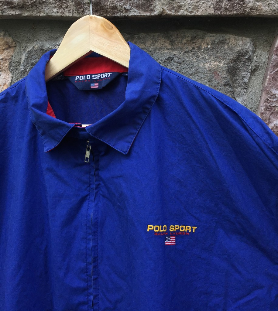 c747022d42a 90's Polo Sport ralph lauren USA coaches jacket blue size xl royal