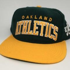 90's Starter arch oakland a's Athletics snapback hat Deadstock MLB