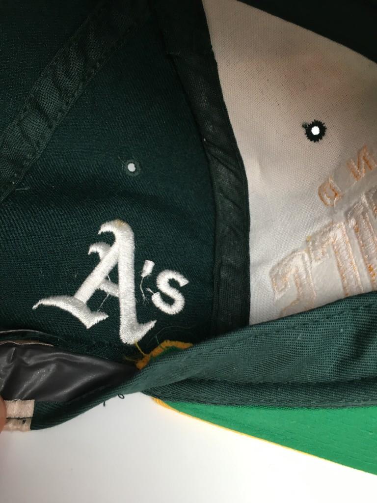 22613cbe03d 90 s Starter arch oakland a s Athletics snapback hat Deadstock MLB