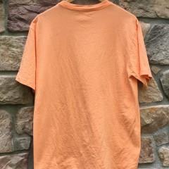 2007 Supreme New York Romulus Remus orange t shirt size large