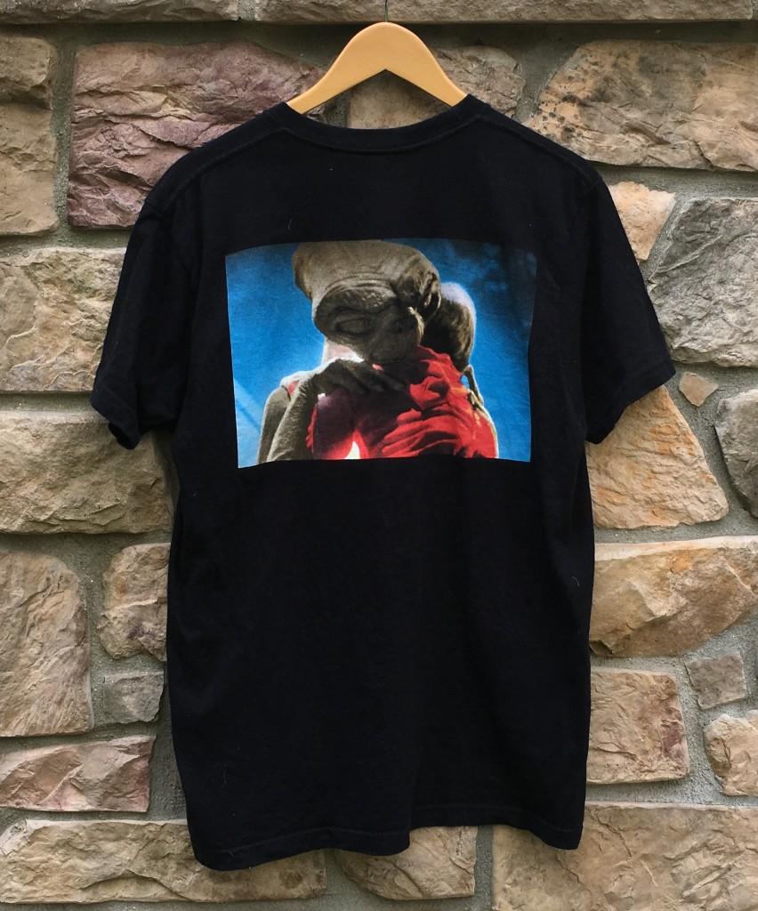 2015 Supreme new york E.T. T shirt black size large 2d2aaaeb3