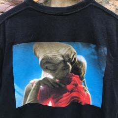 2015 Supreme new york E.T. T shirt black size large