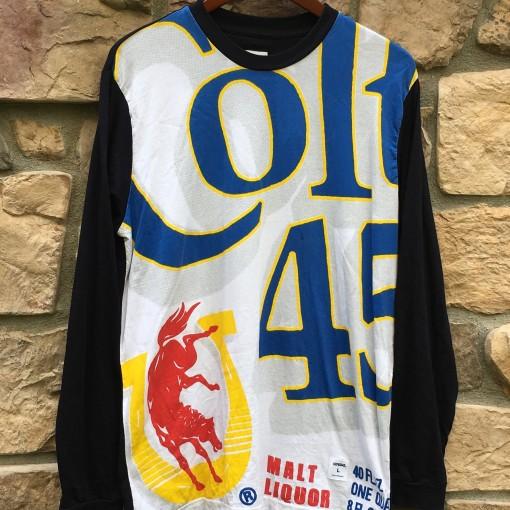 2007 Supreme New York Colt 45 longsleeved t shirt size large