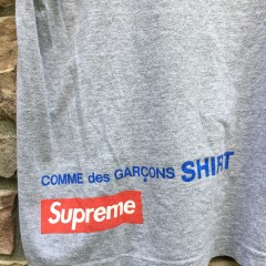 2014 Supreme Comme des garcons harold hunter t shirt size large grey