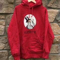 2011 Supreme New York Uptown Hooded sweatshirt hoody red size XL