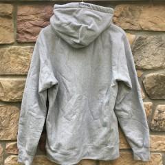 2016 Supreme New York Capone N noreaga war report hooded sweatshirt hoody grey size large