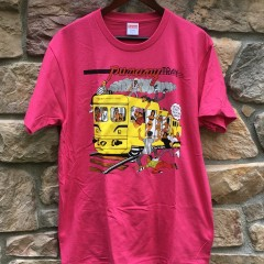 2017 Supreme Limonious Punany Train t shirt fuchsia pink size large deadstock