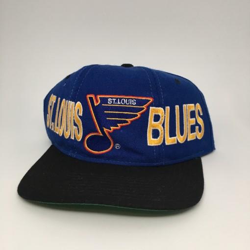 vintage 90's St. Louis Blues Starter Tri Power NHL Snapback hat cap