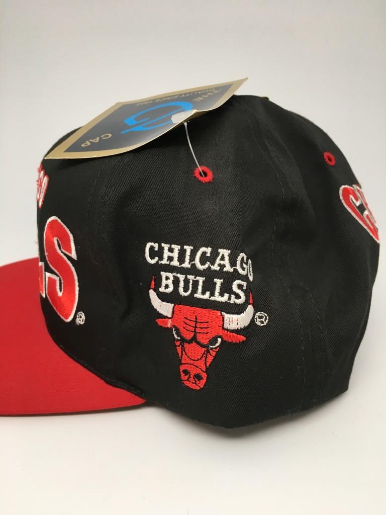 90 s Chicago Bulls G Cap NBA snapback hat deadstock 153e0699a1b