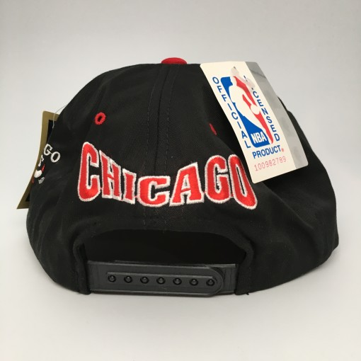 90's Chicago Bulls G Cap NBA snapback hat deadstock