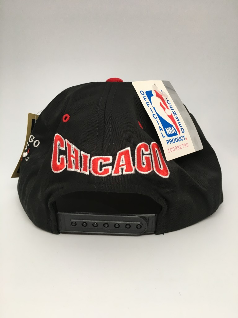 90 s Chicago Bulls G Cap NBA snapback hat deadstock 770786220d75