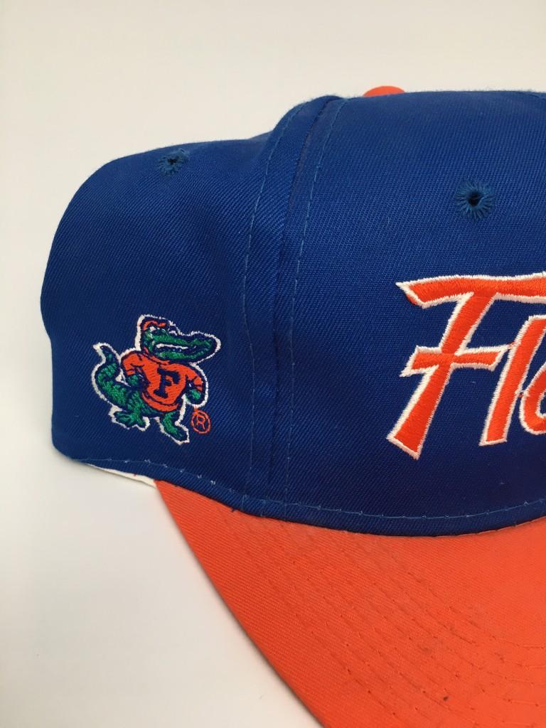 e427eca879afdb 90s Sports specialties script Florida Gators NCAA snapback hat cap deadstock