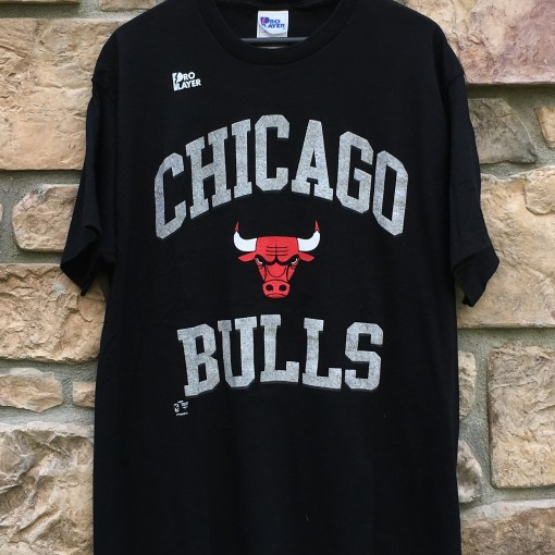 90's Chicago Bulls pro player NBA t shirt deadstock