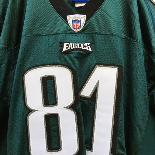 2004 Terrell Owens aUthentic Philadelphia Eagles NFL Reebok jersey size 48 green