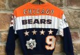 vintage 80's Chicago Bears bull frog NFL crew neck youth size small