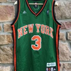 2007 Stephon Marbury New York Knicks Green St. Patrick's Day Adidas swingman jersey size medium