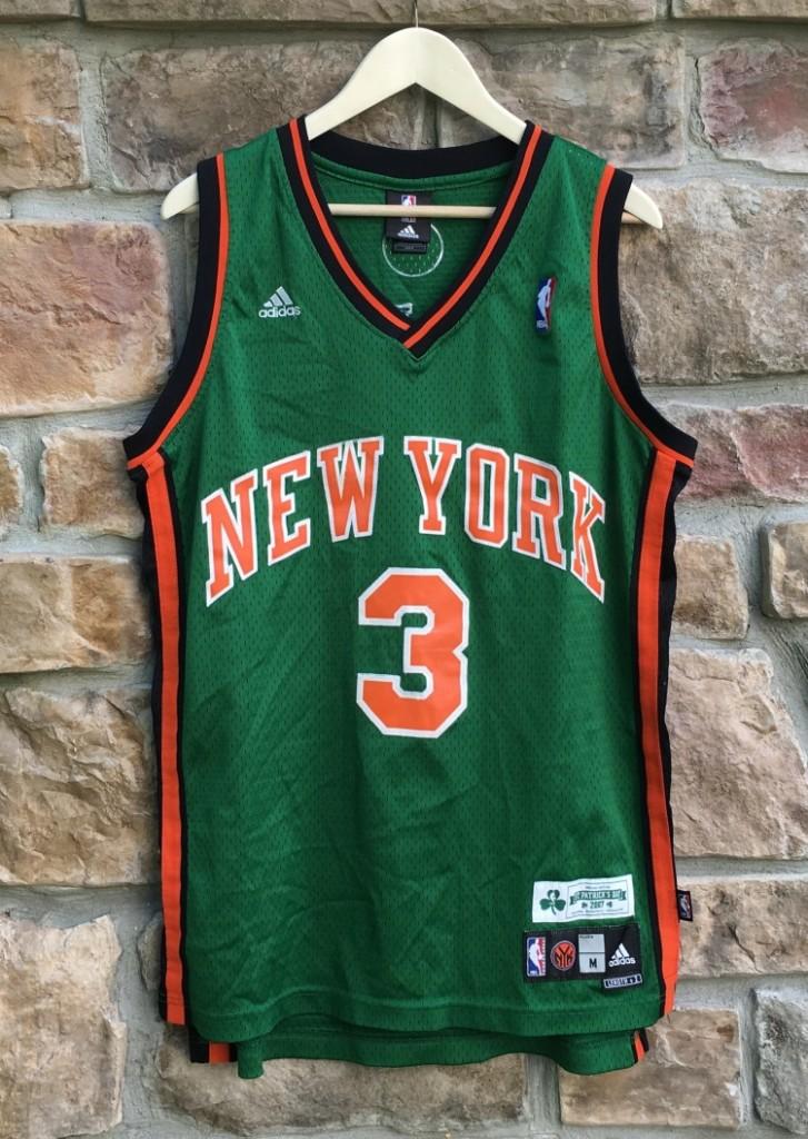 huge discount 3d510 c0baa 2007 Stephon Marbury New York Knicks St. Patrick's Day NBA Jersey Size  Medium