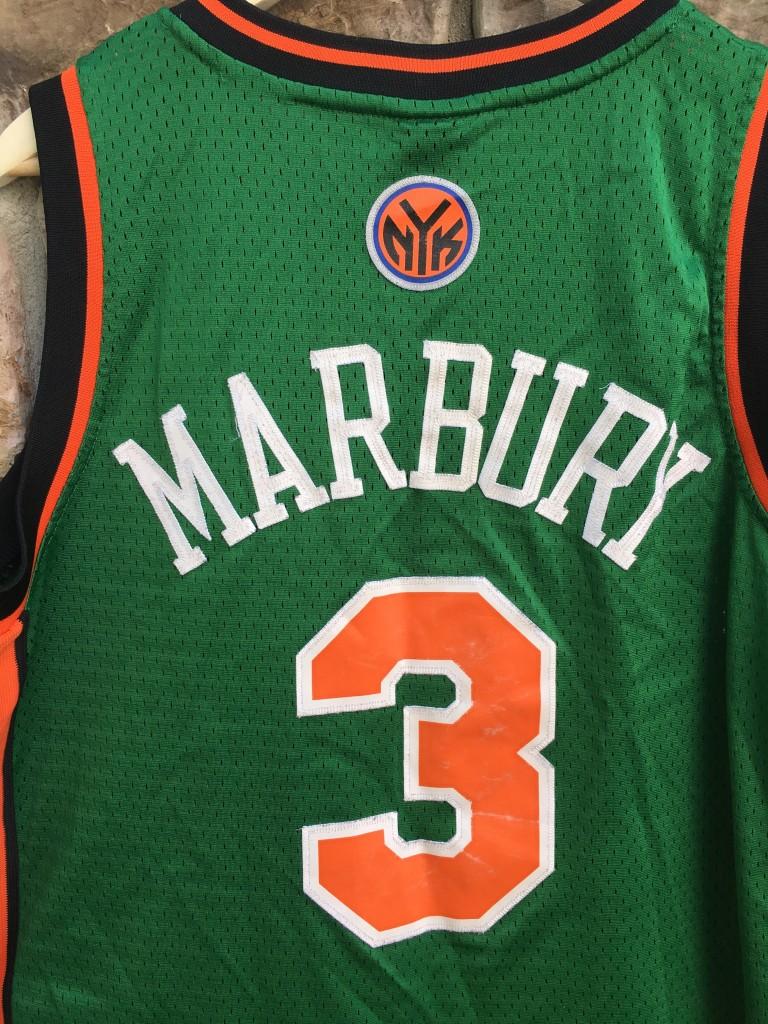 2007 stephon marbury new york knicks st patrick�s day nba