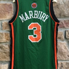 2007 Stephon Marbury New York Knicks Green St. Patrick's Day Adidas swingman jersey size medium