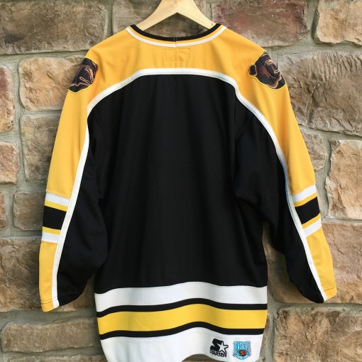90's Boston Bruins Starter NHL hockey jersey size medium