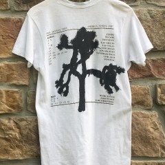 1987 U2 The Joshua Tree USA Concert tour t shirt original screen stars size medium