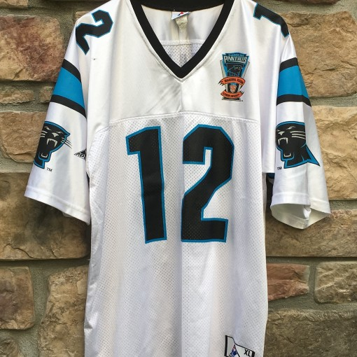 1995 Kerry Collins Carolina Panthers inaugural season nfl jersey Apex one size XL