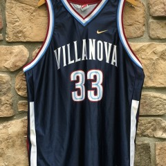 1996 Zeffy Penn Villanova Wildcats NCAA basketball jersey size XXL
