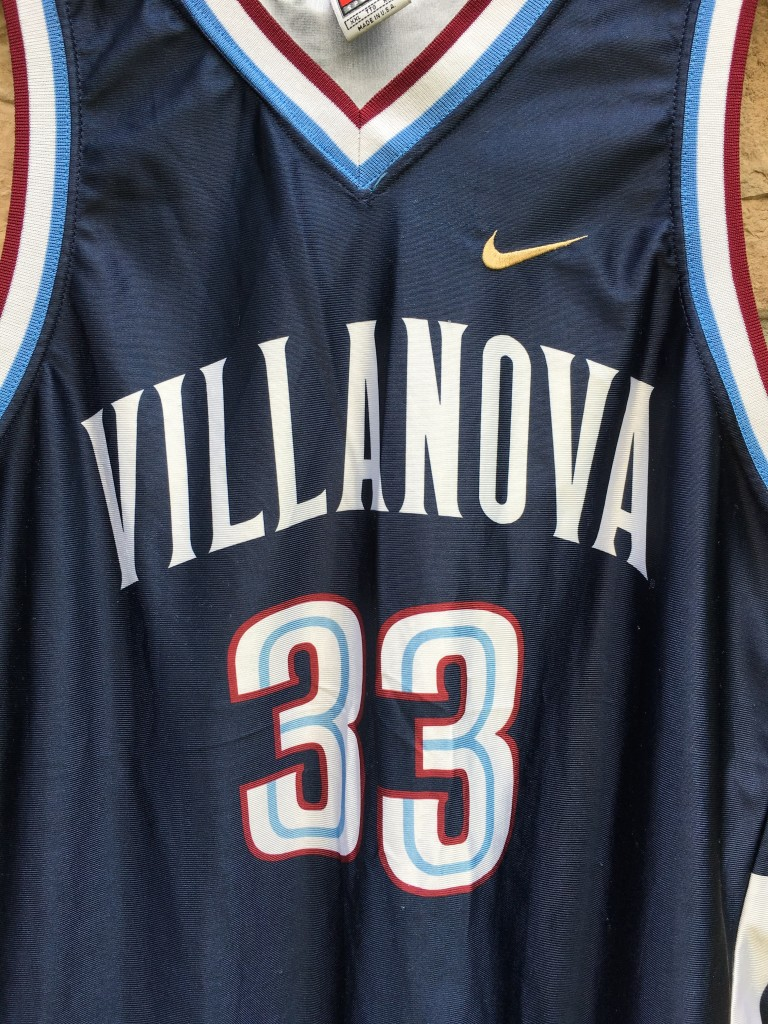 fdba9f058 ... coupon code for 10 youth nike navy authentic college basketball jersey  1996 zeffy penn villanova wildcats