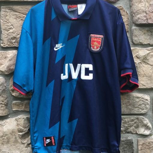 JVC 1995 Arsenal Gunners Premier League Soccer jersey size XXL NIKE