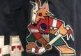 1996 Phoenix Coyotes Jeff Hamilton NHL racing Jacket size Large Kachina