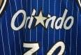 Vintage 90's Orlando Magic Shaq Champion blue pinstripe authentic jersey size 40 medium
